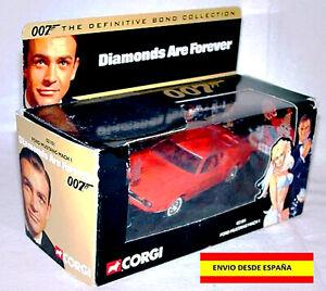 Model CORGI TOYS 007 The Diamond Son For Forever 1:43 James Bond MUSTANG