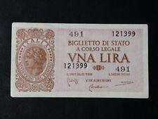 BANCONOTA LIRE 1 LAUREATA BELLA