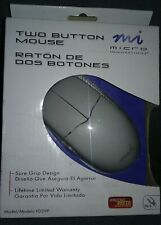 🔴New! Micro Innovations Two Button Mouse Lifetime Warranty