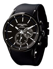 Jorg Gray JG5100-31 Men Watch All Black With White Accents Multifunction Dial