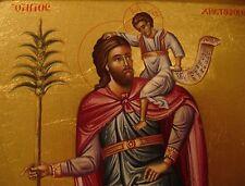 Hl.Christophorus IKONE Icon St.Christopher orthodox Ikona Икона Святой Христофор