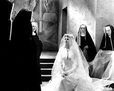 Julie Andrews in The Sound of Music Nun Scene BW 10x8 Photo