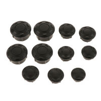 Motorcycle Frame Hole Cover Filler Caps Plugs Set for BMW R Nine T 2014-2019