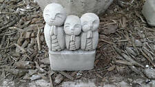 Jizo Monk Pot Feet or Risers - Set of Three