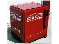 Flexible Fridge Magnet Photo Of  A COCA COLA ICE BOX