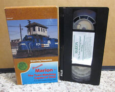OHIO TRAIN-WATCHING travel video Marion VHS railroad CSX Norfolk Southern Lines