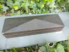 Boxed sharpening oil stone