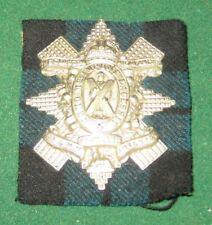 Vintage WW2 1st Batt. The Glasgow Highlanders Cap Badge