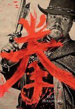 Original MAN WITH THE IRON FISTS Tarantino RZA Martial Arts WILDING POSTER CROWE