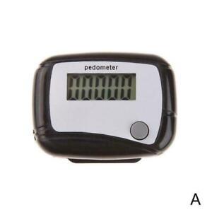 LCD Digital Step Pedometer Walking Calorie Counter Belt Run Distance Clip N5A2