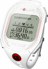 Polar RCX3 Watch White Heart Rate Monitor Tracking Fitness Running Exercise