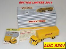 COFFRET COLLECTOR PANHARD MOVIC KODAK DE 2011 #500.60 DINKY TOYS / ATLAS