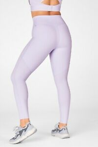 Fabletics Motion365 Anywhere High Waisted Legging, Size 3XL, Frosted Lilac, New