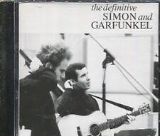 THE DEFINITIVE SIMON and GARFUNKEL  on CD