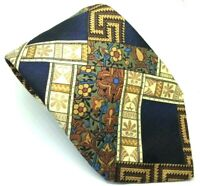 "Piscador Men's Tie Multi Abstract Polyester 3.75"" Width 59"" Length"
