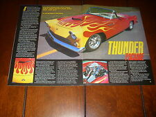 1955 FORD THUNDERBIRD SUPERCHARGED  ***ORIGINAL 2001 ARTICLE***