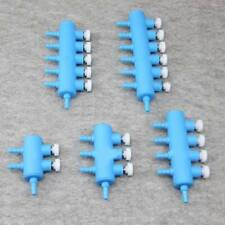 Aquarium Fish Tank Air Pipe Distribe Splitter Oxygen Pump Control Valve Parts RF