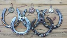 Horseshoe Wall Art -Handcrafted-Western-Rustic-Country Decor -5 color options!