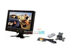 """MONITOR LCD 9"""" NOVE POLLICI TFT CON TELECOMANDO PER AUTO MACCHINA CASA CAMPER TV"""