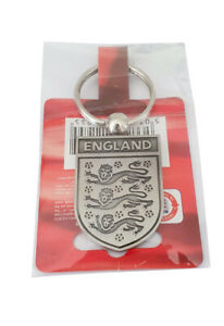 England Three Lions 2010 Official Product Silver Metal Collectors Keyring