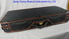 1pcs High Grade black double Violin case 4/4