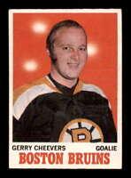 1970 O-Pee-Chee #1 Gerry Cheevers ! VGEX X1625416