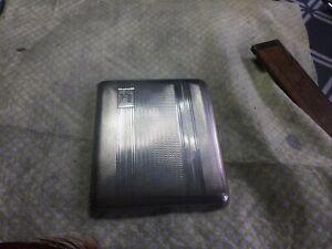 vintage solid silver cigarette case