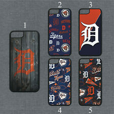 Detroit Tigers Phone Case For iPhone 11 Pro X XS Max 8+ 7 6 Plus Black Cover