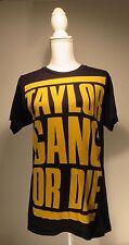 Taylor Gang or Die Unisex Black & Yellow Graphic Rap T-Shirt Size Medium M