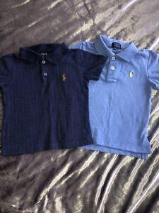 Boys Ralph Lauren Polo Shirt Bundle Age 2