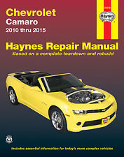 Réparation Instructions/Manuel de réparation/Service Manual Camaro 2010 - 2015
