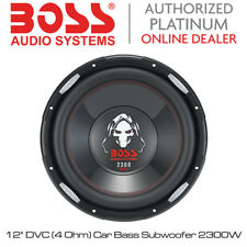 "Boss Audio Phantom - 12"" Dvc (4 Series Ohm Subwoofer Bass) 2300W coche"