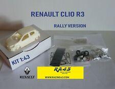 1/43 Renault Clio R3 Rally version KIT