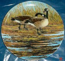 Dominion China Ltd Collectors Plate THE COURTSHIP - Geese