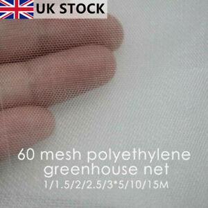 INSECT NETTING NET Fine Woven Mesh Anti Butterfly Fly Screen Bug Garden Net UK!