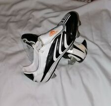Adidas Predator + Absolado Absolute Football Boots  Size UK 9  SG Black White