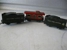 Vintage Marx PostwarElectric Train Cars Lot