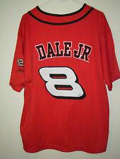 NASCAR Budweiser #8 Dale Earnhardt Jr. Adult Extra Large (XL) Size Jersey Shirt