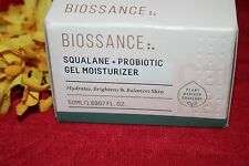 Biossance Squaline + Probiotic Gel Moisturizer Fullsize 1.69 Oz In Box Authentic