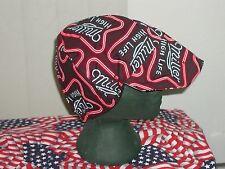Miller Time: Red's American Made: Welding Hat Biker Cap $7.50 each
