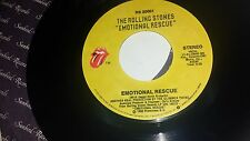 THE ROLLING STONES Down In The Hole / Emotional Rescue 20001 RECORD 45