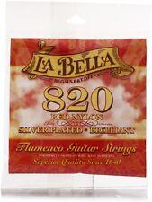 La Bella 820 Red Nylon Flamenco Guitar Strings