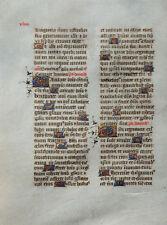 HANDSCHRIFT BREVIARIUM DES ETIENNE CARANDOLET FRANKREICH D´AUSSERT PARIS 1458