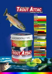 Top Secret Forellen Teig Trout Attack multi color mix 59,80€/1kg