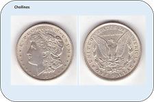 UN DOLAR DE PLATA AÑO 1921     ESTADOS UNIDOS   ( MB11095 )