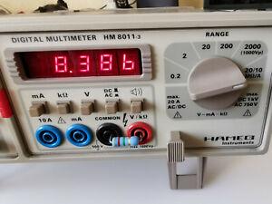 Hameg Digital Multimeter HM 8011-3 gebraucht, voll funktionstüchtig