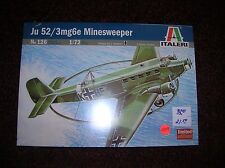 "Italeri #126 ""JU52/3 Minesweeper""   "" 1/72 new boxed lot # 11047"