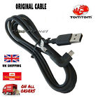 GENUINE TOMTOM START 40 / 42 / 50 / 60 / USB CAR CHARGER DATA CABLE LEAD