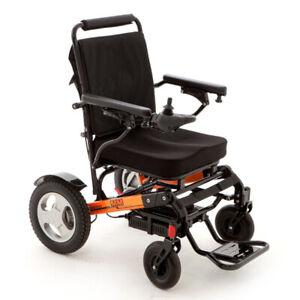 Monarch Mobility Ezi-Fold Lightweight Folding Electric Wheelchair