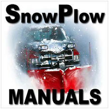 ULTIMATE SNOWPLOW Meyer Wester Fisher Snow Plow Blade 800+ MANUALS DVD